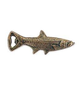 True Metallic Cast Iron Fish Bottle Opener