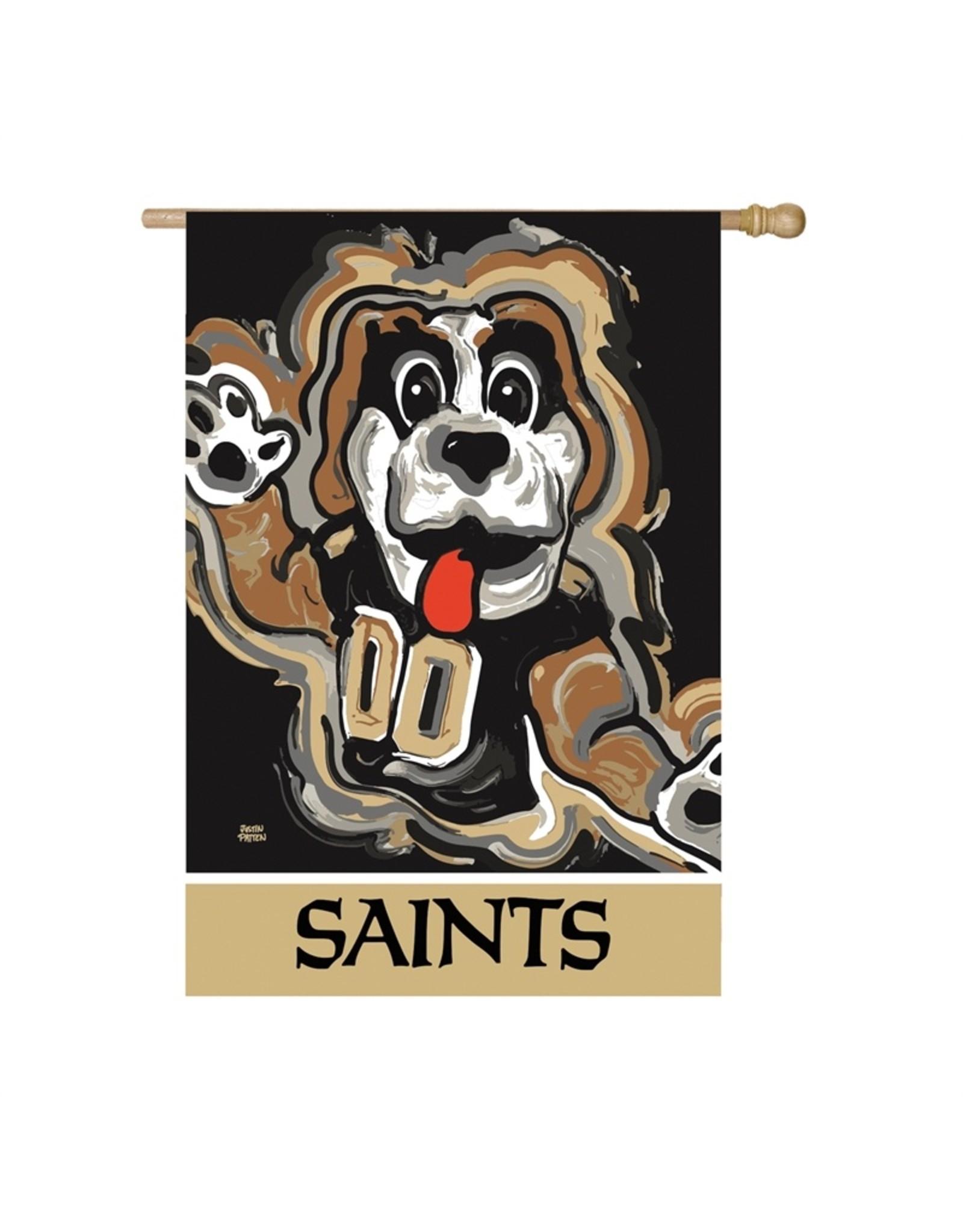 Evergreen Enterprises New Orleans Saints, Suede Justin Patten