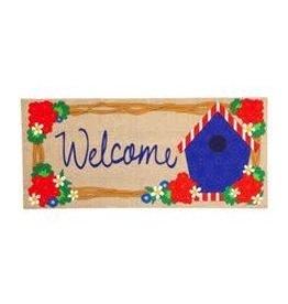 Evergreen Enterprises Patriotic Welcome Sassafras Switch Mat