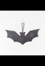 Adams & Co. Wood Cutout (Bat), Black