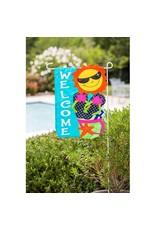 Evergreen Enterprises Fun In The Sun Regular Applique House Flag