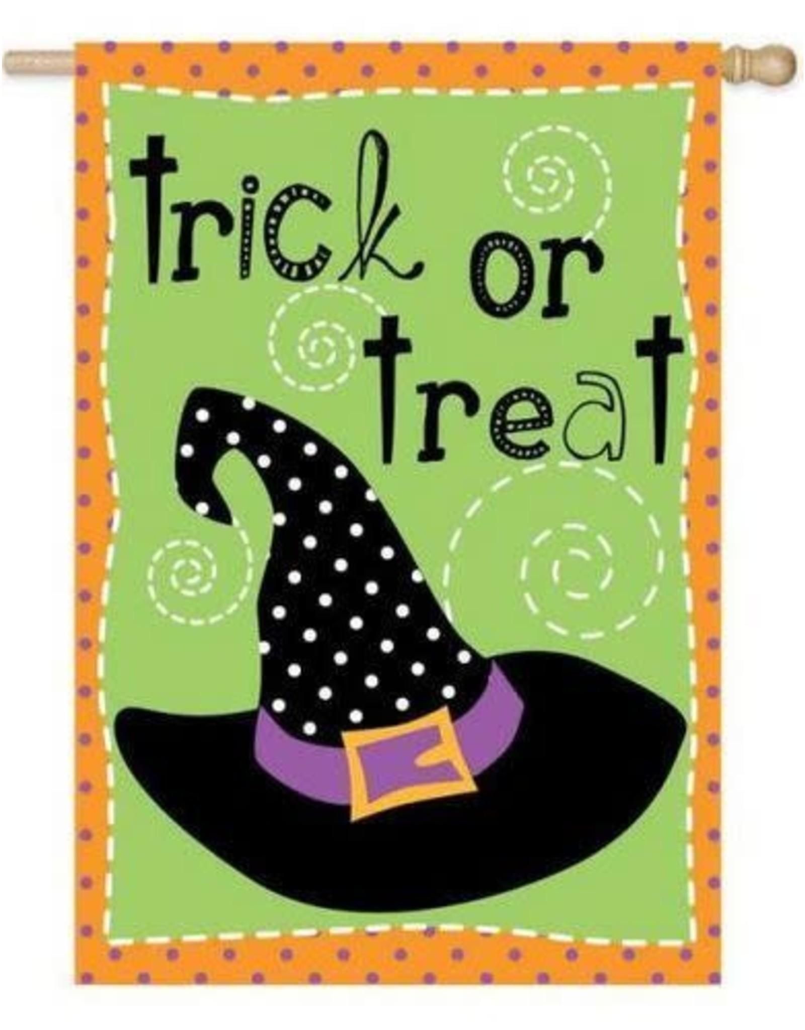Evergreen Enterprises Double Sided Halloween Hijinks House Flag