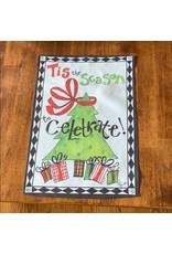 Evergreen Enterprises Tis The Season To Celebrate Flag