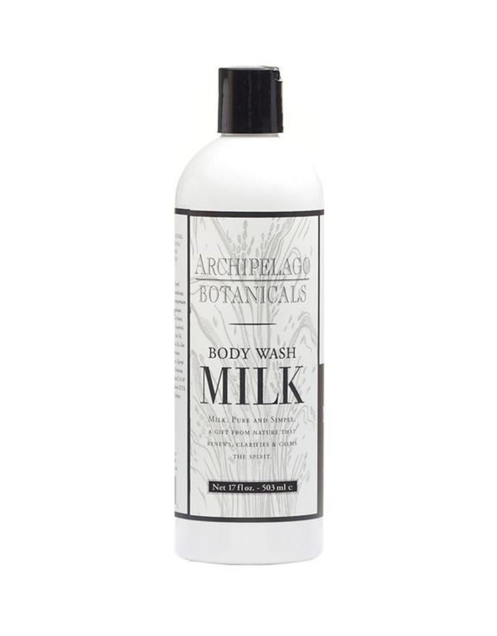 Archipelago 17oz Milk Body Wash