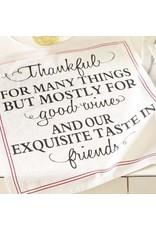 Mudpie Thankful Flour Sack Towel