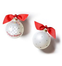 Coton Colors My First Christmas Glass Ornaments - Buffalo Stocking