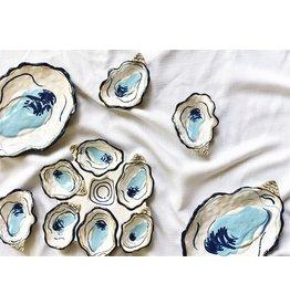 "Coton Colors Oyster Trinket Bowl 3x4"""