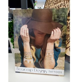 Beaucoup Designs LeBlanc Tattoo- Gold
