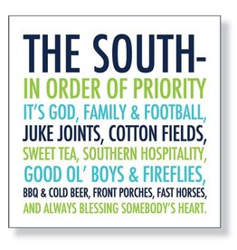 Slant and Stir Collections THE SOUTH bev napkins