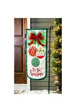 Evergreen Enterprises Tis the Season Everlasting Impressions Textile Décor