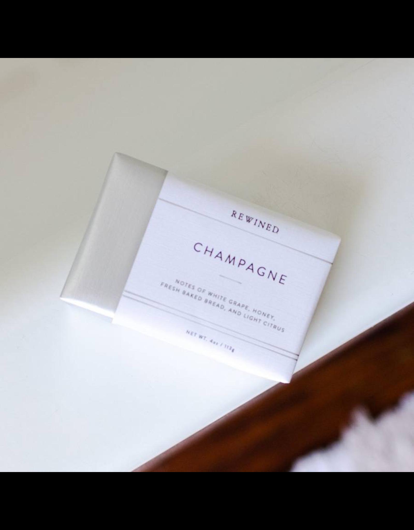 Rewined Champagne Bar Soap-4oz
