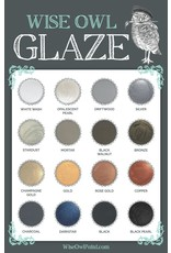 Wise Owl Paint Metallic Bronze Glaze 8oz