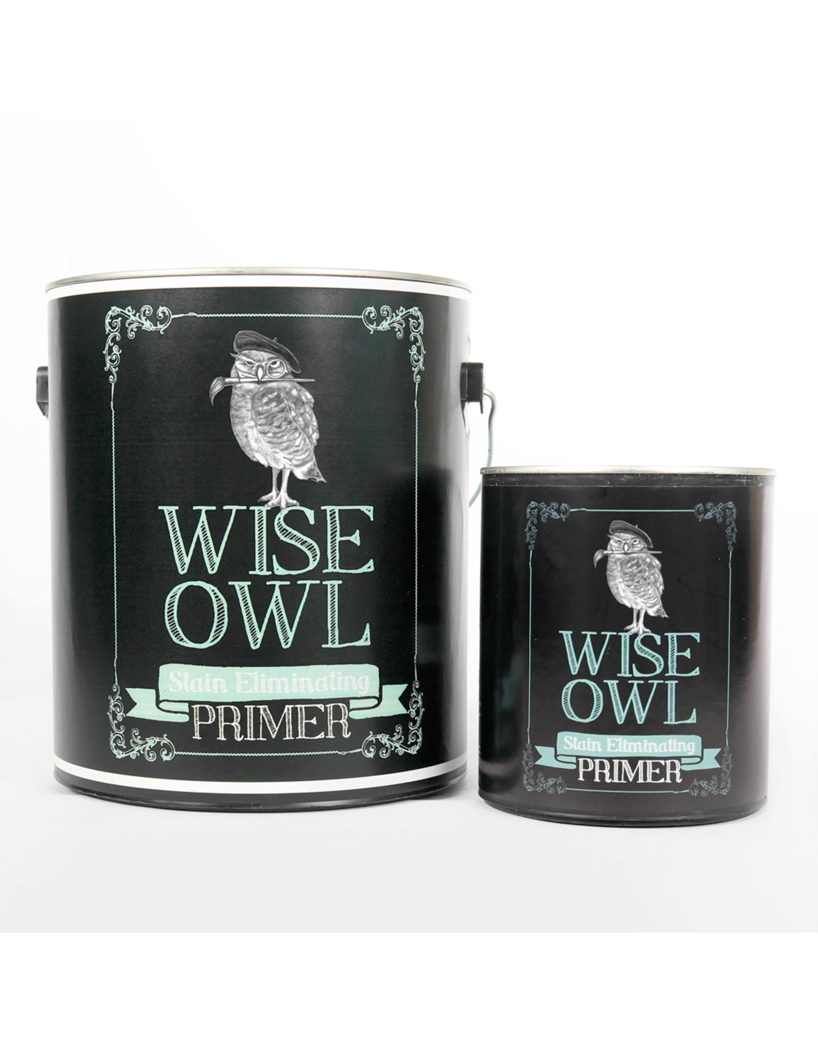 Wise Owl Paint Stain Eliminating Primer-Clear Quart