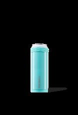 Corkcicle Slim Arctican - 12oz Gloss Turquoise