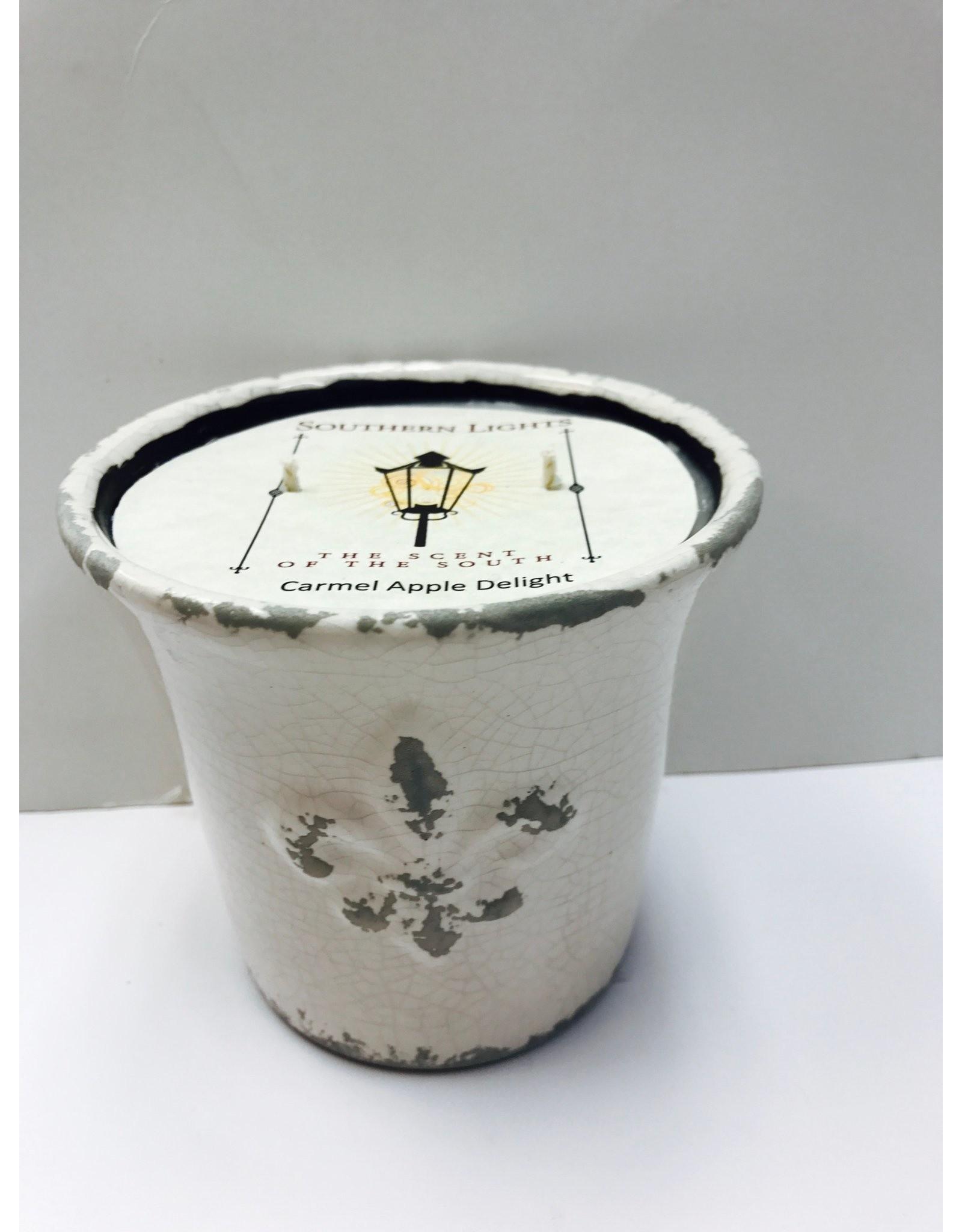 Southern Lights White Fleur Urn-Honeysuckle Jasmine 17oz