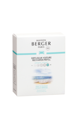 Maison Berger Car Refill-Set/2 Ocean Breeze Ceramic