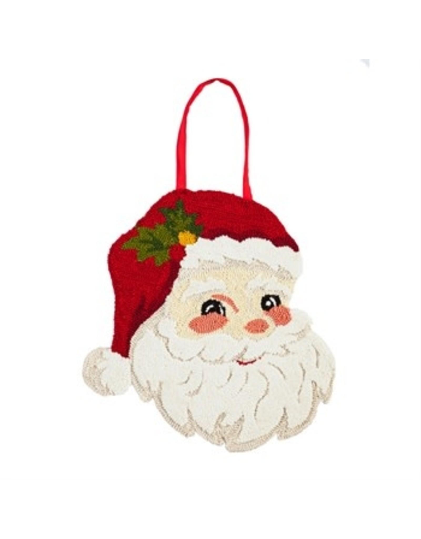 Evergreen Enterprises Santa Hooked Door Décor
