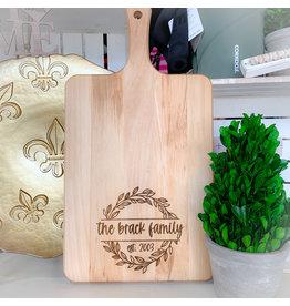 Miche Designs MICHE-Custom Engraved Cutting Board, Laurel Style