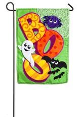 Evergreen Enterprises BOO Garden Linen Flag