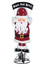 Evergreen Enterprises Santa Lighted Statement Stake