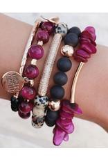 Kinsley Armelle Geode Collection-Sphinx Bracelet