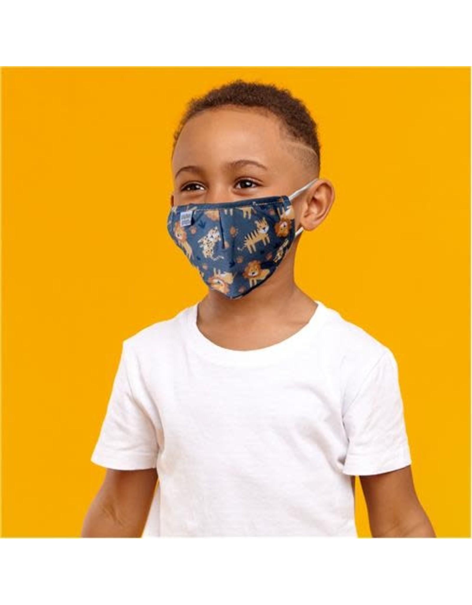 Stephen Joseph Kids Cotton Face Mask - Zoo
