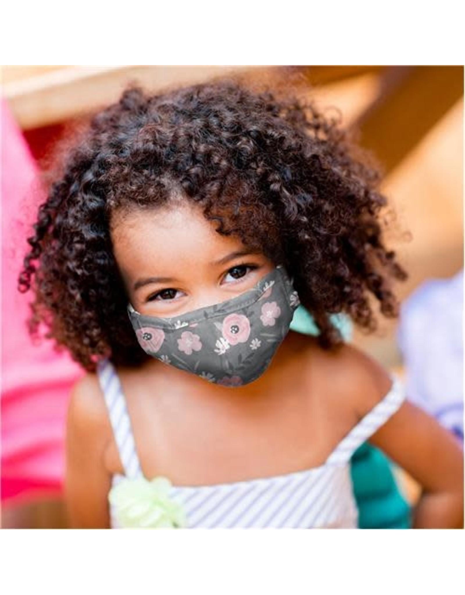 Stephen Joseph Kids Cotton Face Mask - Floral
