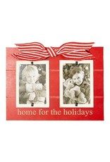 Mudpie Home for the Holidays Frame