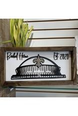 """Miche Designs MICHE-Custom 3D Dome Farmhouse Sign, 8""""x16"""""""