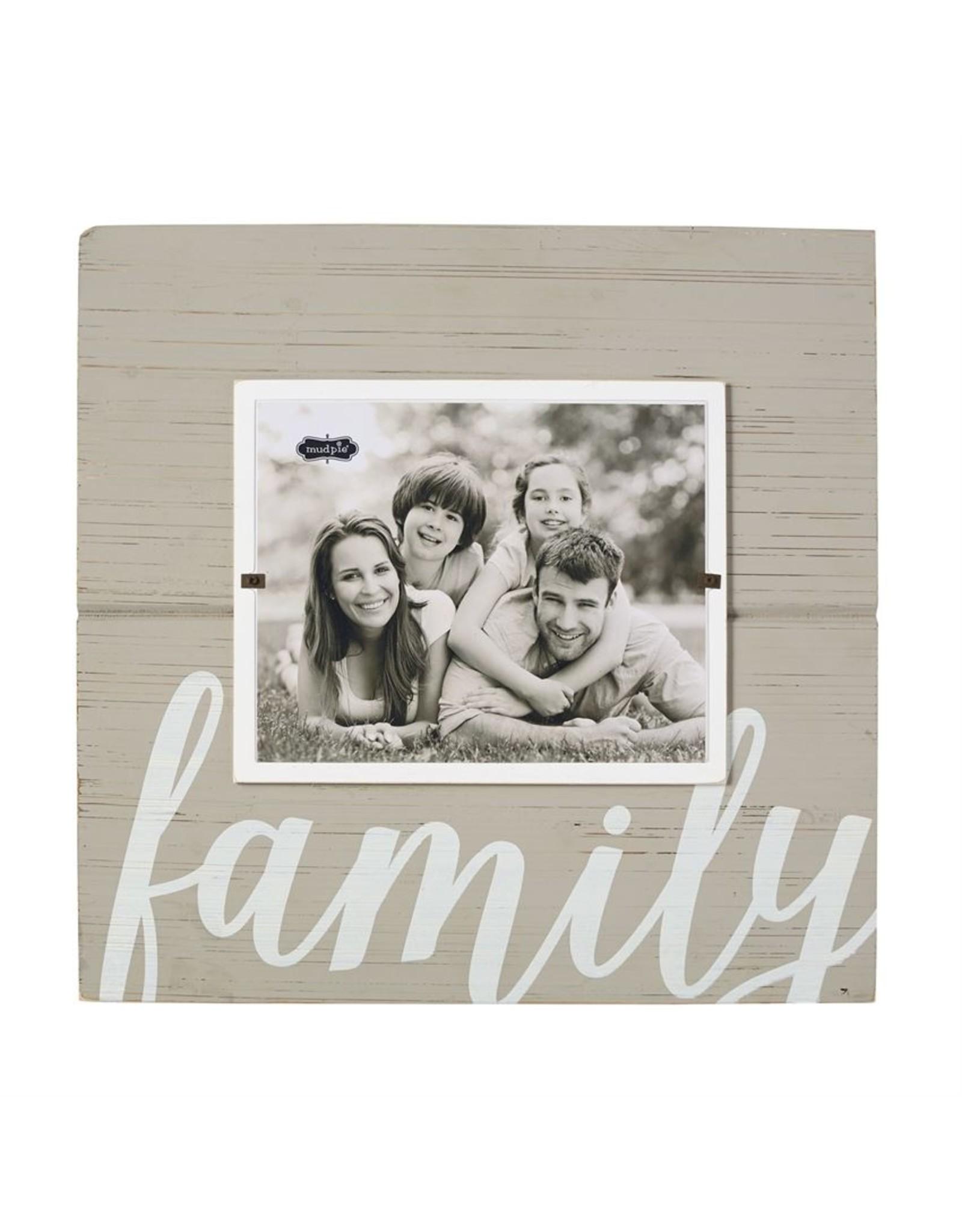 Mudpie Family Frame