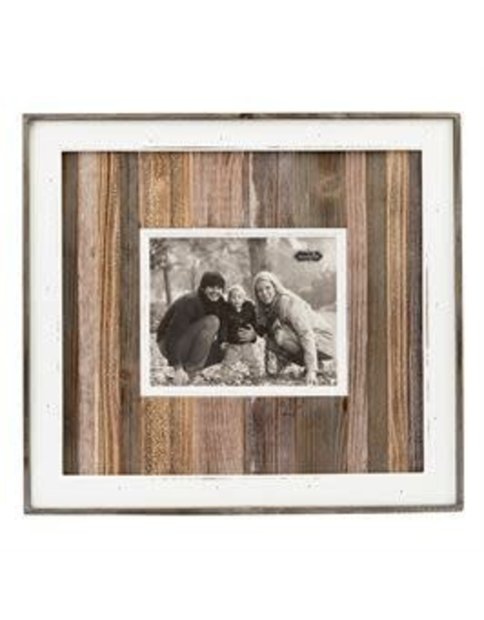 Mudpie Variegated Wood Planked Picture Frame