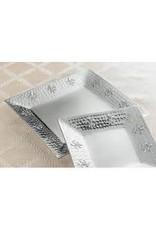 India Handicraft Hammered FDL Plate, Sm