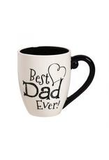 Evergreen Enterprises Best Dad Ever Ceramic Mug