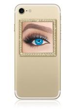 iDecoz Square Selfie Mirror-Gold