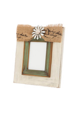 Evergreen Enterprises Vintage Wooden Photo Frame 5x7 Lg