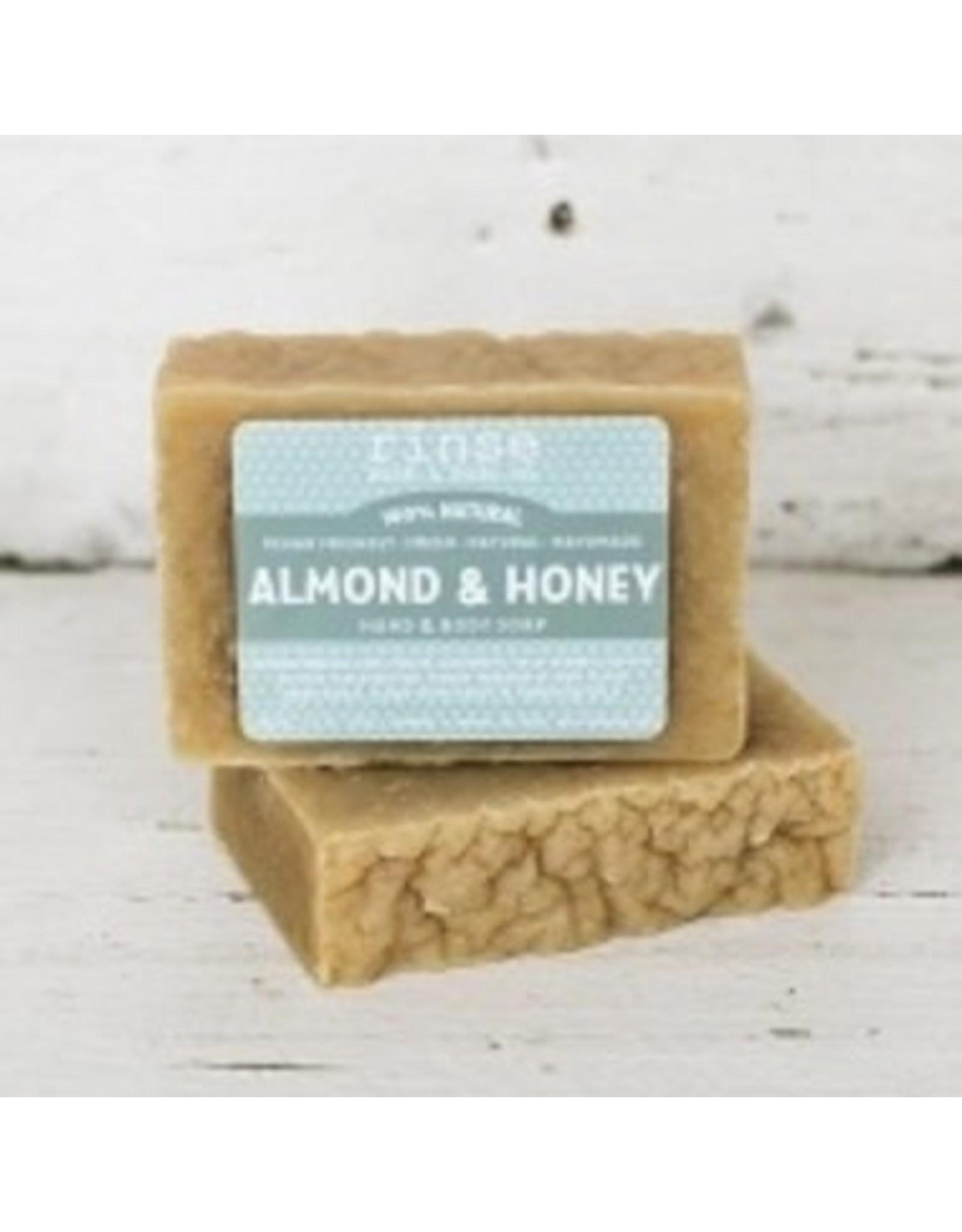 Rinse Bath & Body Co. Almond & Honey Soap 4.5oz