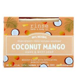 Rinse Bath & Body Co. Coconut Mango Soap 4.5oz