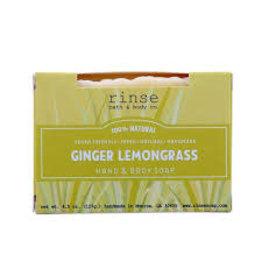 Rinse Bath & Body Co. Ginger Lemongrass Soap 4.5oz