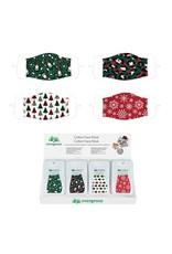 Evergreen Enterprises Adult Non-Medical Cotton Face Mask - 4 Christmas Designs