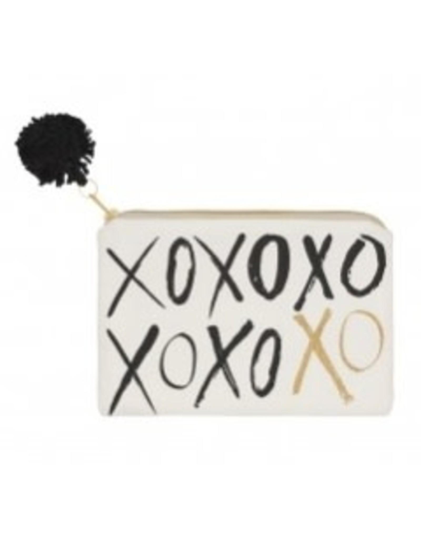 Collins Gold XOXO Cosmetic Bag