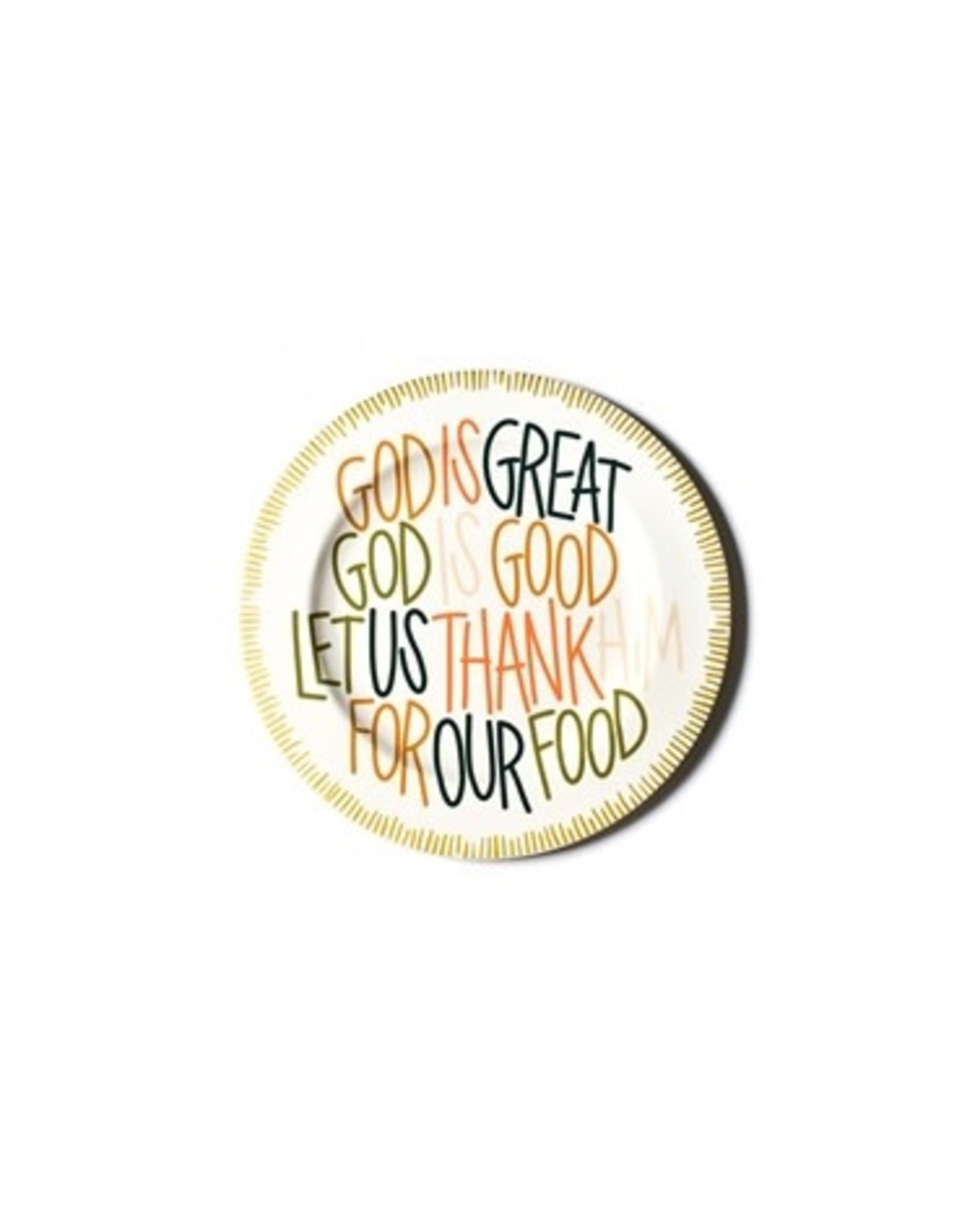Coton Colors Dusk God Is Great Platter