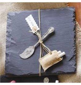 Mudpie Slate Cutting Board Set