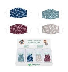 Evergreen Enterprises Children's Non-Medical Antimicrobial Cotton Face Mask