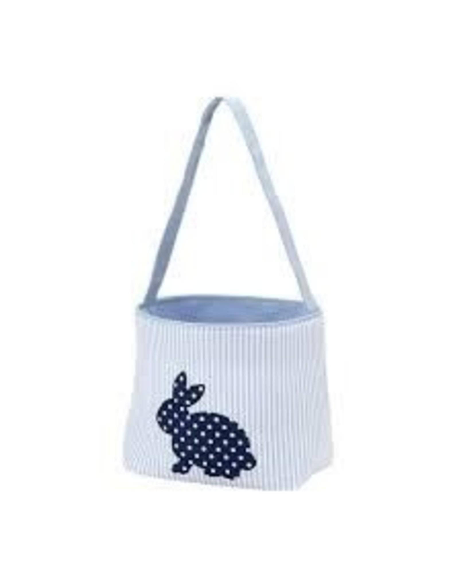 Wholesale Boutique Blue Cotton Tail Easter Bucket