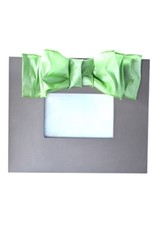 Mainstreet Collection Sliver-Lime Metallic Bow Frame