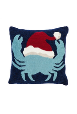 Evergreen Enterprises Indoor/Outdoor Hook Pillow, Holiday Crab