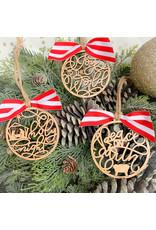 Miche Designs MICHE-Peace on Earth Ornament Collection