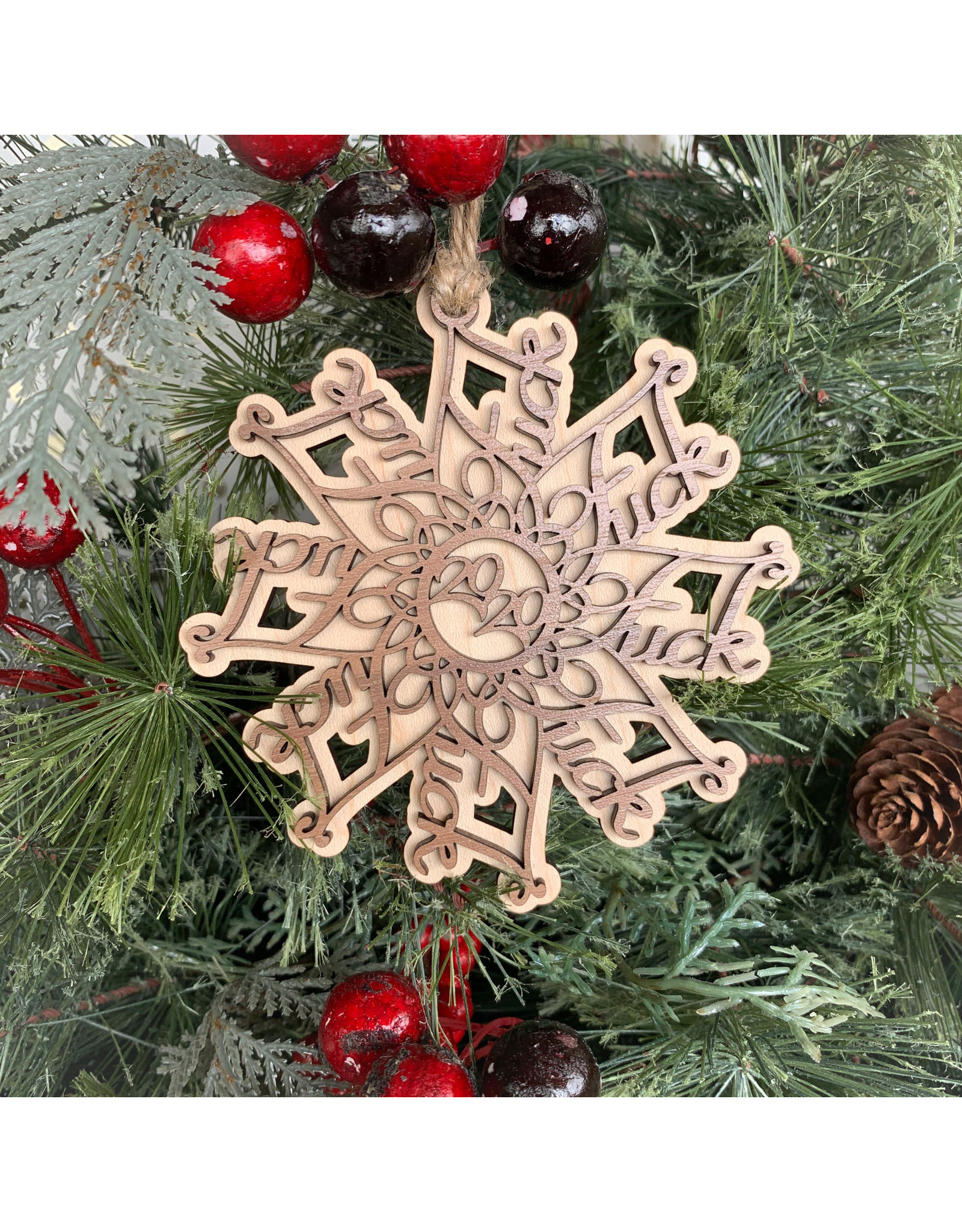 Miche Designs MICHE-2020 F*Flake Ornament