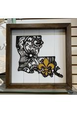 Miche Designs MICHE-Wooden Farmhouse Swirl Design FDL Louisiana