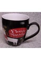 Evergreen Enterprises Ceramic Cup O' Java-Fleece Navidad